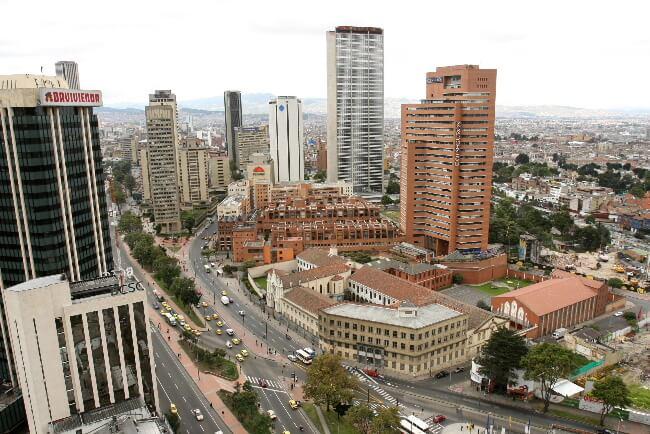 Dónde hospedarse en Bogotá