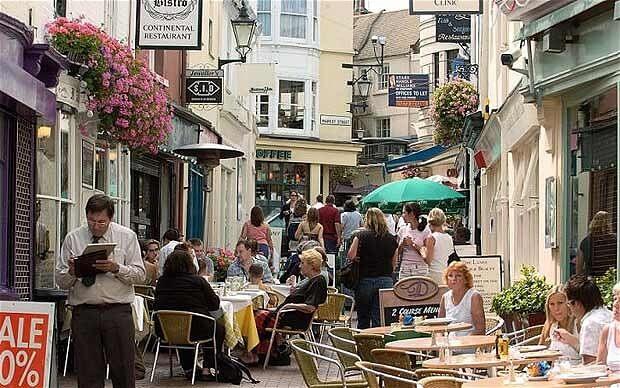 Brighton City Centre Street