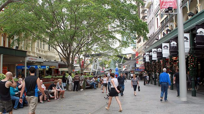 Brisbane CBD Street