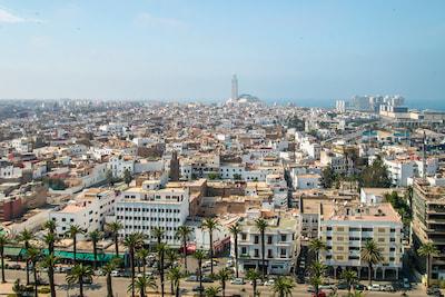 Casablanca city centre