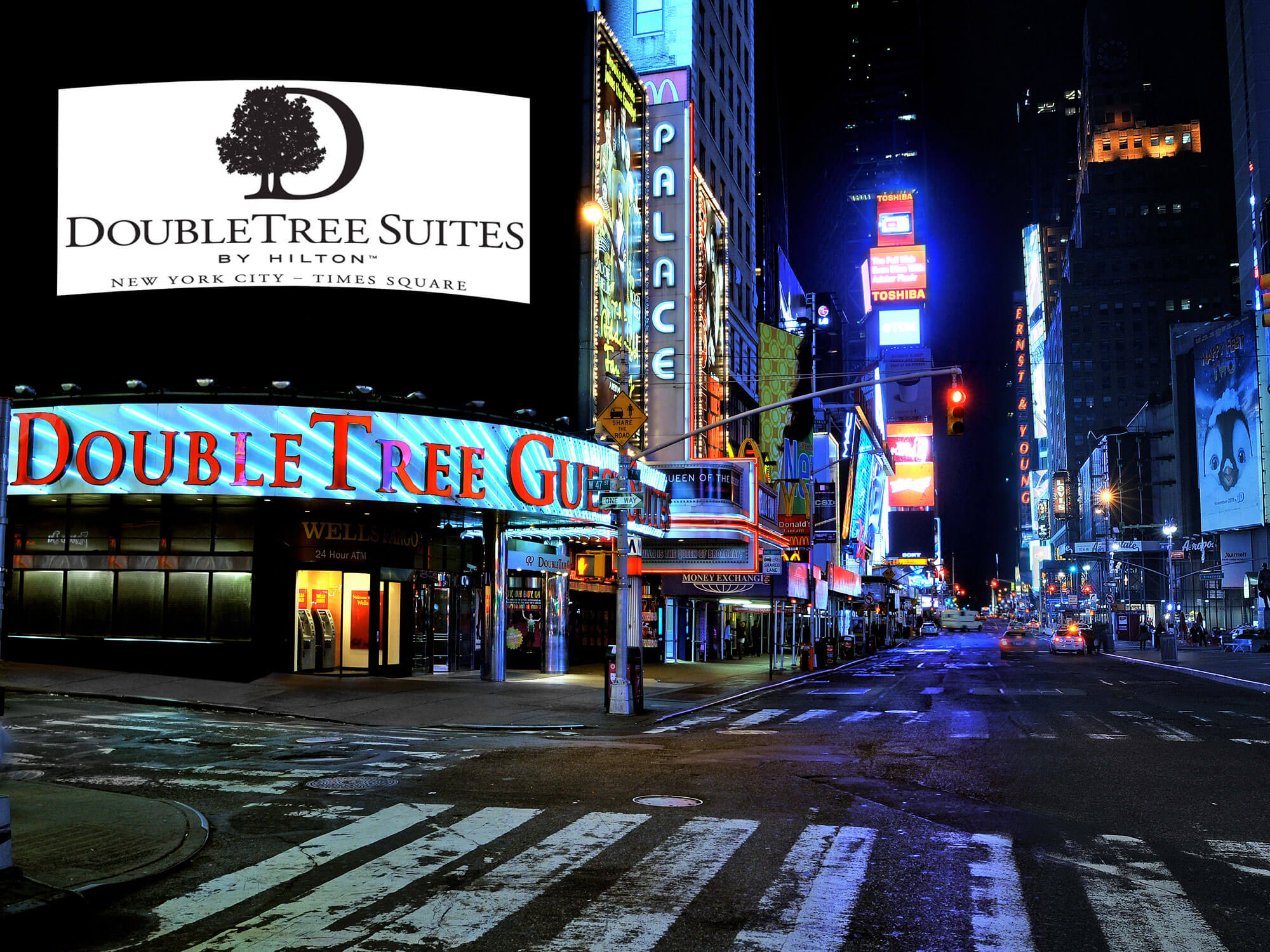 Doubletree Suites Hotel Times Square