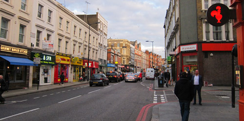Earls Court and Hammersmith London