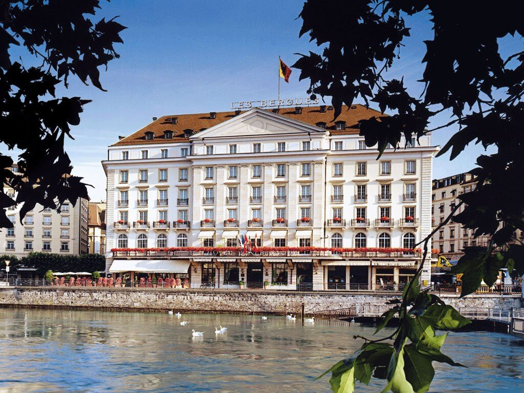 Which is the best area to stay in geneva for Hotels geneve