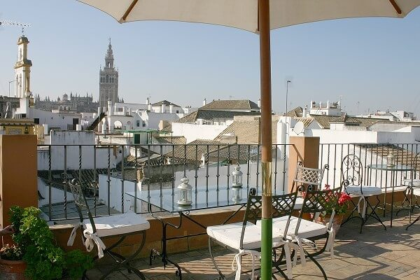 Best area to stay in Seville