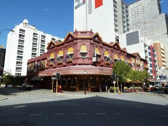 Miss MaudSwedish Hotel Perth