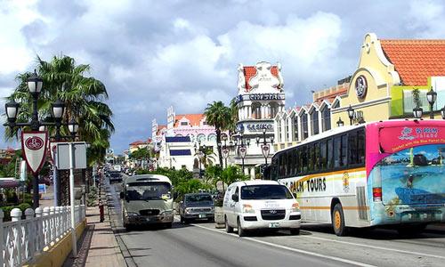 Oranjestad.