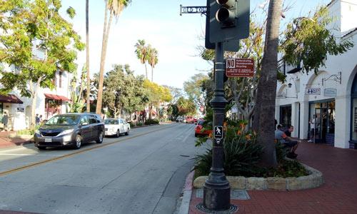 downtown area Santa Barbara