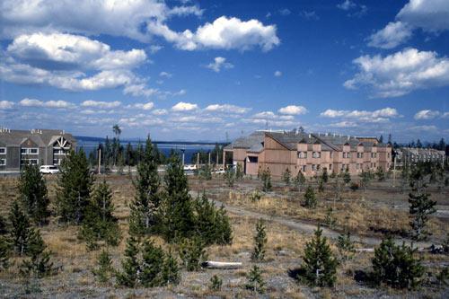 grant village Yellowstone