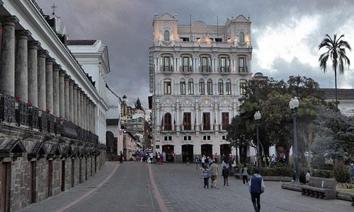historic centre Quito