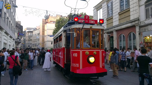 Taksim Area