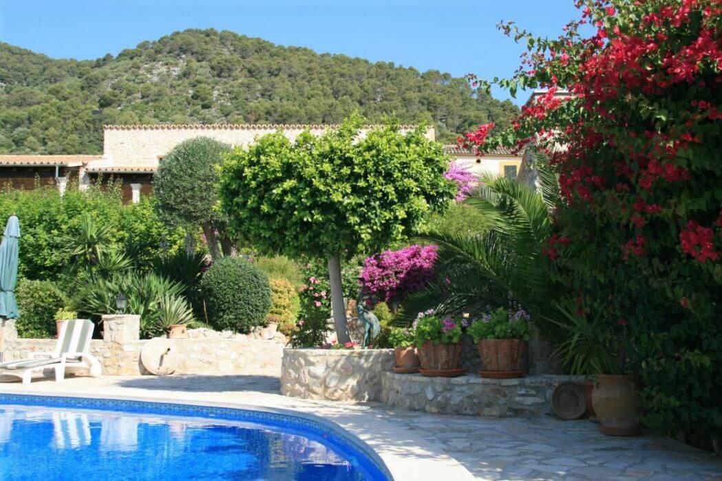 Hotel rural con piscina en Mallorca