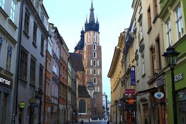 Best area to stay in Krakow