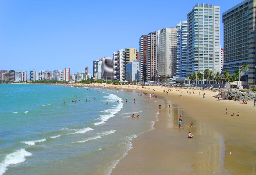Meireles beach, where to stay in Fortaleza