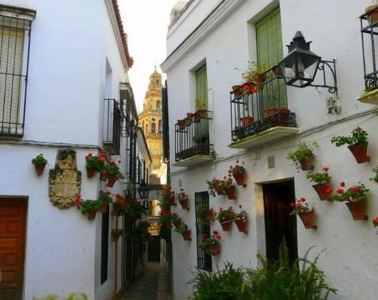 The Jewish Quarter, the best area to stay in Cordoba, Spain