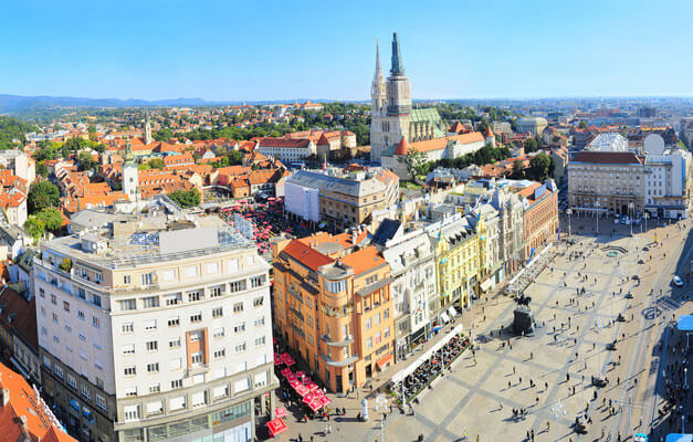 Best area to stay in Zagreb