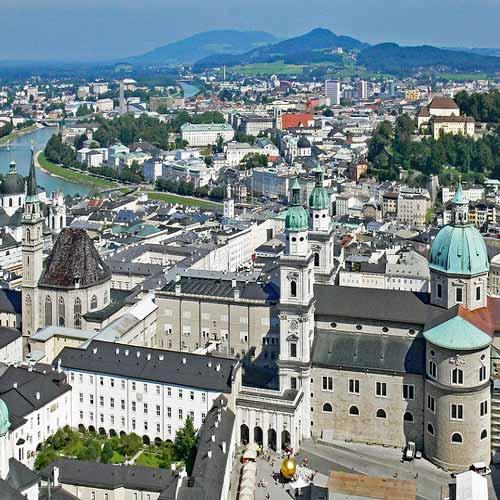 Ciudad Vieja de Salzburgo