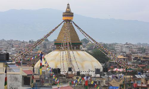 Bouddha (or Boudhanath)