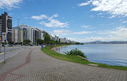 Florianopolis city centre