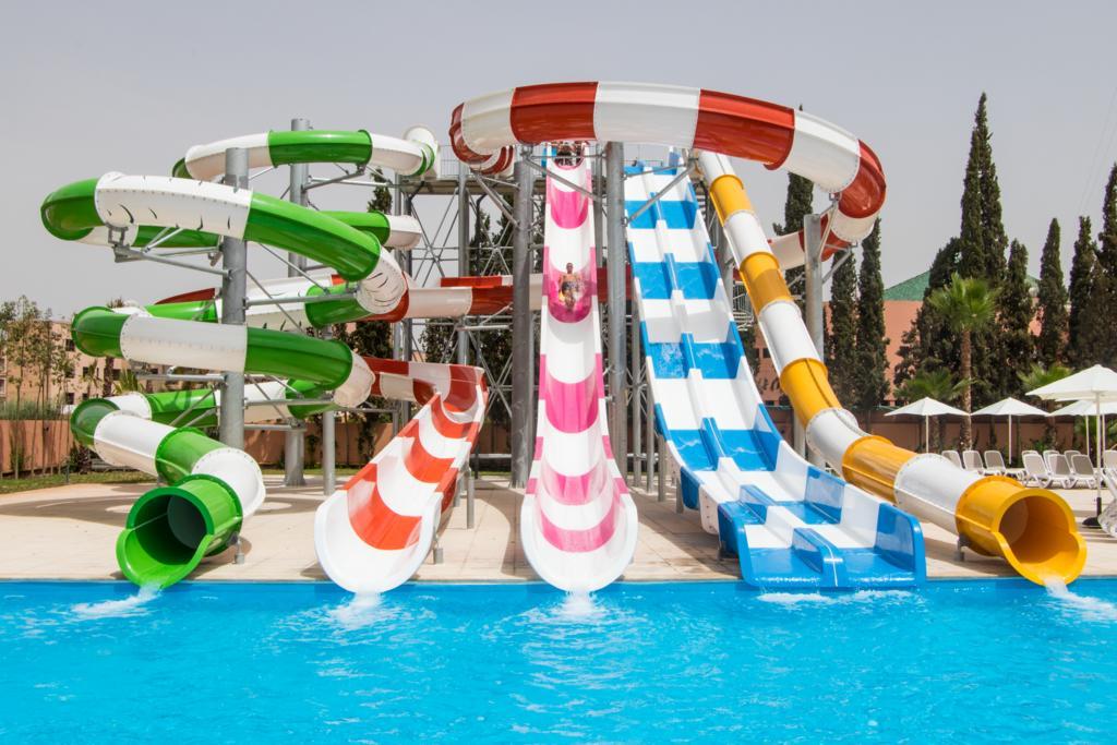 Toboganes del hotel LABRANDA Rose Aqua Parc