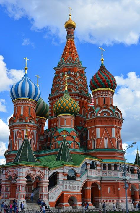 Moscú city center