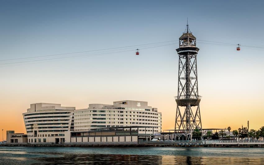 Eurostars Grand Marina, el hotel más cercano al puerto de cruceros de Barcelona